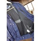 36259★ジャンク!RSタイチ メッシュジャケット【L】★DRYMASTER★バイク用ライダースジャケット★INTERSTATE