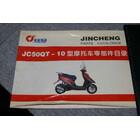 17398★パーツリスト★初版★金城集団 JINCHENG JC50QT-10