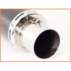 《M1》良品♪カーボンサイレンサー♪60.5mm♪GPz900R/ZRX1200/ZZR1100/ゼファー750/CB1300SF/X4等♪