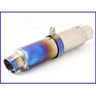 《M2》良品♪チタン ショートサイレンサー 60.5mm♪オーバーホール済♪CB1300SF/XJR/ZRX1100/1200/ゼファー750/ZZR1100/GPz900R♪