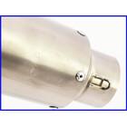 【M1】良品♪チタン GPタイプ ショートサイレンサー♪60.5mm♪オーバーホール済♪XJR/ZRX1100/1200/ZX-12R/ゼファー/GPz900R♪