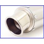 【M2】良品♪TRICKSTAR ショートチタンサイレンサー♪60.5mm♪CB1300SF/XJR1200/ZRX1100/ゼファー750/ZZR1100/GPz900R/ZRX1200DAEG♪