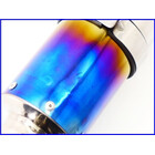 【M2】良品♪チタンサイレンサー♪60.5mm♪CB1300SF/XJR1200/ZRX1100/ゼファー750/ZZR1100/GPz900R/ZRX1200DAEG♪