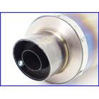 【M2】良品♪チタンサイレンサー♪60.5mm♪オーバーホール済♪CB1300SF/XJR/ZRX1100/1200/ゼファー/ZZR1100/GPz900R♪