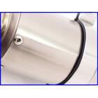 【M2】良品♪チタンサイレンサー♪60.5mm♪バッフル付♪GPz900R/ZRX1200/ゼファー750/ZZR1100/CB1300SF/XJR1300♪