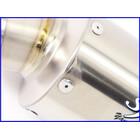 【M2】良品♪ヤマモトレーシング Spec-A チタンサイレンサー♪60.5mm♪CB1300SF/XJR/ZRX1100/1200/ゼファー/ZZR1100/GPz900R♪