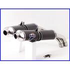 【M4】良品♪748SPS テルミニョーニ Oval カーボンスリップオンマフラー♪45mm♪916/996/998♪