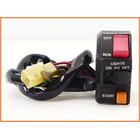 ★ 《M2》良品♪GPz900R FCRキャブレターset 35mm♪洗浄済♪ACTIVE 薄型 右スイッチ&スロットルホルダー&antlion ケーブル付♪