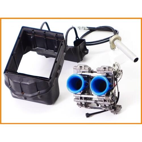 ★ 《M3》良品♪900SS JB-POWER FCRキャブレターset 39mm♪洗浄済♪ハイスロットル&加工済エアクリーナーBOX付♪900SL/M900♪