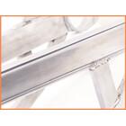★ 《M4》良品♪GPz900R 補強入り スイングアームset♪ポリッシュ♪ワイドホイール対応♪