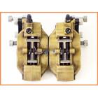 ★『M1』良品♪GPz900R ブレンボ 4POTフロントキャリパー&サポートset♪40mm/62mm♪ZXR400/ゼファー1100/ZZR1100♪