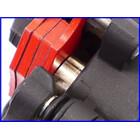 ★【M1】良品♪GSX1300Rハヤブサ('09) 純正リアキャリパー&サポート♪デイトナ 赤パッド♪