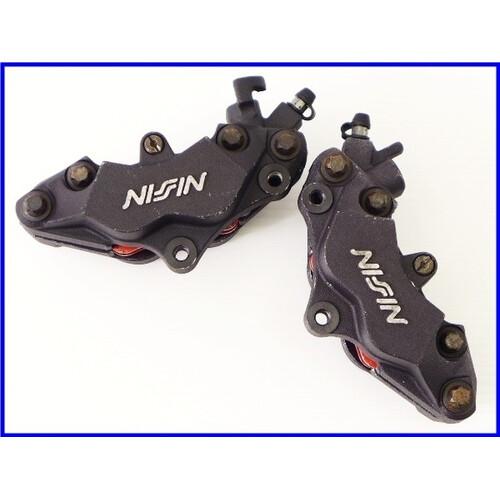 ★【M1】良品♪NSR250R-SE(MC28) 純正NISSIN 4POTフロントキャリパーset♪実働車取外♪