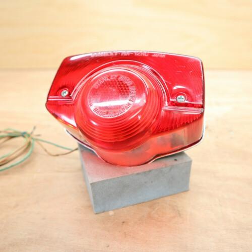 MD90 郵政カブ (6V) カスタム 色替え ブルー 外し 純正 ブレーキランプ テールランプ STANLEY HM-12RC 201203HD1045
