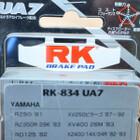 ブレーキパッド RK BRAKE PAD RK-834-UA7 (RZ50 XV250ビラーゴ XS250/S XT600 など) 210107TD0382