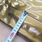 #9649 メッセンジャーバッグ ターポリン 黒/金 210107TD0049
