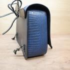 ハーレー FLSTN1580 ソフテイル デラックス DEGNER デグナー クロコダイル柄レザーサドルバッグ 210428BD0018
