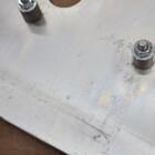 ヤマハ トリッカー/XG250 社外 アルミ アンダーカウル/スキッドプレート 210428BD0194