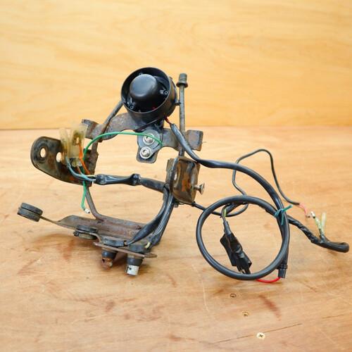 ホンダ XE75(CE75) 純正 ヘッドライトステー 210621HD1034