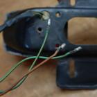 ホンダ XE75(CE75) 純正 テールランプ HM-8RC ナンバープレートホルダー ※点灯確認済み 210621HD1025