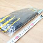 未使用★MOTOWN/モータウン ERH06-XL イージーライディングローブ ヘビー XLサイズ ブラック/イエロー 210115YS0018