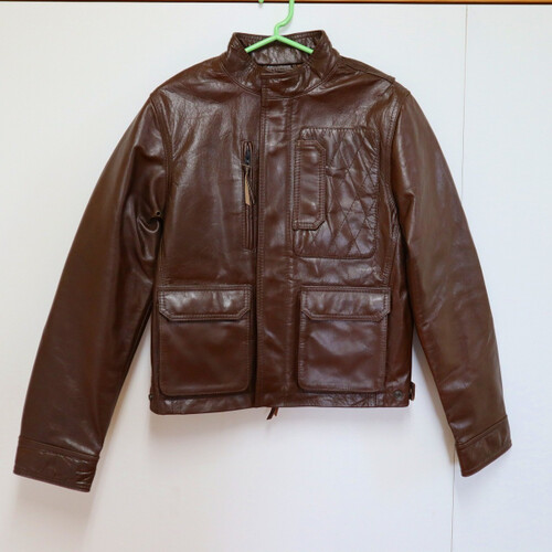 HenlyBegins(DAYTONA) ヘンリービギンズ(デイトナ) レディース DH-501 レザージャケット SIZE:WL ※展示品 201130BD0615