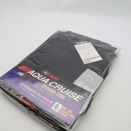 未使用品★YAMAHA/ヤマハ YAR27 CYBER TEX/サイバーテックス レインスーツ Mサイズ ガンメタル 200402UD0039