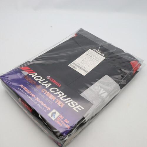 未使用品★YAMAHA/ヤマハ YAR27 CYBER TEX/サイバーテックス レインスーツ 3Lサイズ レッド 200402UD0037
