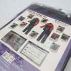 未使用品★YAMAHA/ヤマハ YAR27 CYBER TEX/サイバーテックス レインスーツ LLサイズ レッド 200402UD0033