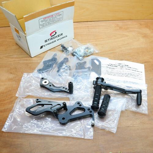 ホンダ CBR1000RR SC57 STRIKER ストライカー スペシャルステップキットType2 バックステップ 210818BD0095