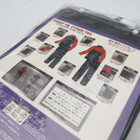 未使用品★YAMAHA/ヤマハ YAR27 CYBER TEX/サイバーテックス レインスーツ LLサイズ レッド 200402UD0029