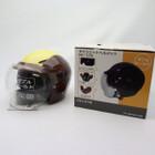 未使用品★石野商会 MAX-57W セミジェットヘルメット フリーサイズ ブラウン/アイボリーカラー 200402UD0007