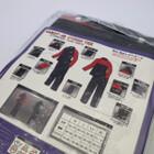 未使用品★YAMAHA/ヤマハ YAR27 CYBER TEX/サイバーテックス レインスーツ Lサイズ レッド 200402UD0023