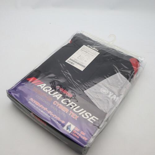 未使用品★YAMAHA/ヤマハ YAR27 CYBER TEX/サイバーテックス レインスーツ Lサイズ レッド 200402UD0021