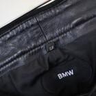 中古品★BMW 純正 レザーパンツ 46サイズ 平置きウエスト約37cm 股下約70cm 200402UD0229