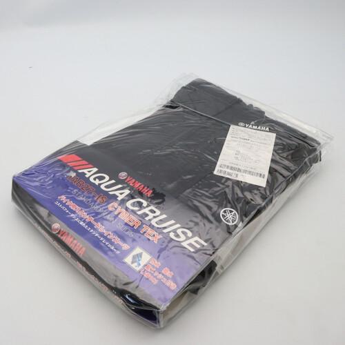 未使用品★YAMAHA/ヤマハ YAR27 CYBER TEX/サイバーテックス レインスーツ Lサイズ ガンメタル 200402UD0046