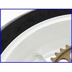 ★ 《W4》良品♪ZX-9R(B) マルケジーニ M10S アルミ鍛造ホイール 前後set♪3.50×17/6.00×17♪タイヤ付♪実働車取外♪