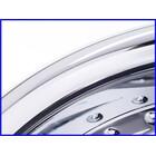 【W3】希少♪V-MAX(〜'07) OVER Racing RHYTHM OX アルミ鍛造ホイール 前後set♪18×3.50J /18×5.50J♪