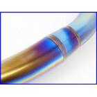 ★ 【M4】良品♪ZZR1100 アールズギア ワイバン 4-2-1 チタン/カーボンマフラー♪手曲げ♪GPZ1100♪