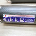 ヤマハ Vmax1200 OVERRACING/オーバーレーシング カーボン スリップオンマフラー サイレンサー 2本出し 左右セット 210921BD0210