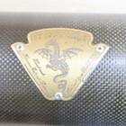 スズキ GSX1300R 隼/ハヤブサ アールズギア ワイバンシングル フルエキ マフラー サイレンサー カーボン チタン 210921BD0198