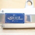 ホンダ CRM250R 2型 MD24 PRO SKILL/プロスキル フルエキ マフラー チャンバー サイレンサー ヒートガード付 210921BD0197